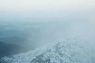 雪后的南京紫金山 美成仙境