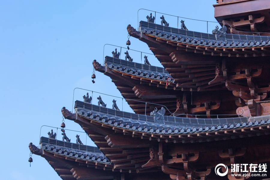 杭州城北地标 望宸阁 10月下旬免费开放