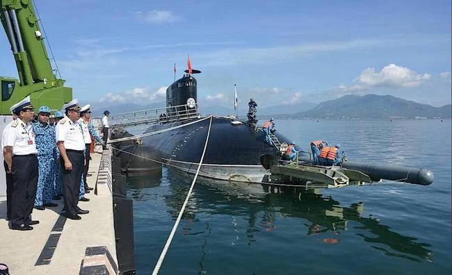 想在南海挑事?越南海军曝光潜射俱乐部导弹(图文)