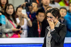 中网李娜退役仪式