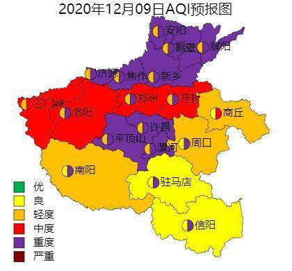 工地停工,企业减产!河南多地升级重污染天气预警至红色图片
