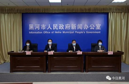 黑龙江黑河市1月2日新增4例确诊病例图片
