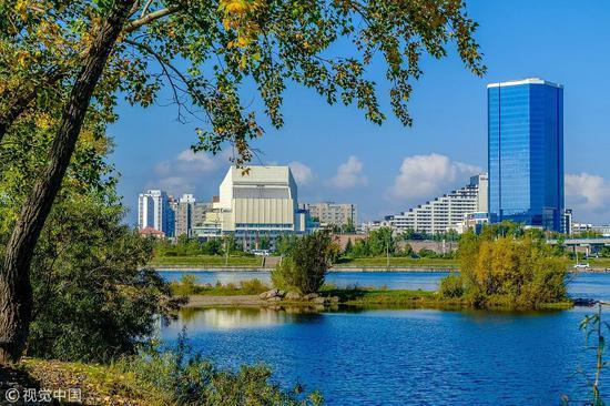 俄罗斯克拉斯诺亚尔斯克 图源视觉中国