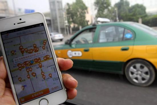 网约车也许会变成另一种出租车。图/Simon Song