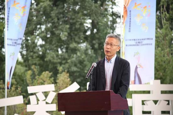 北京世园局常务副局长周剑平致辞