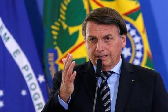 (圖說:巴西總統博索納羅/圖源:路透社)