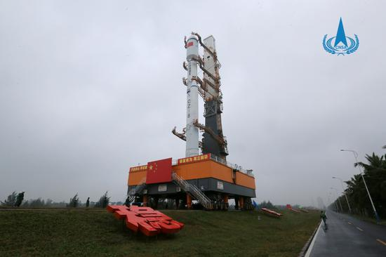 长征八号运载火箭首飞成功图片
