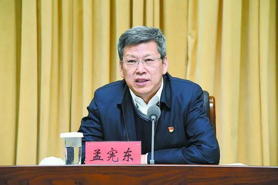 孟宪东任内蒙古自治区党委常委图片