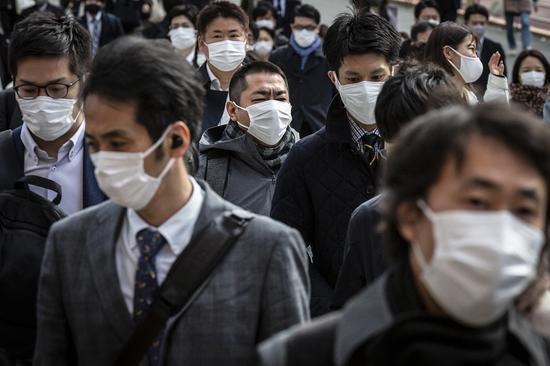 变异病毒已成东京疫情主流 近75%新冠患者被感染