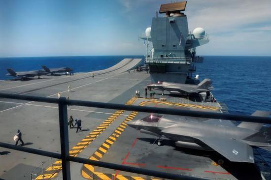 英国航空母舰驶向南海意欲何为?