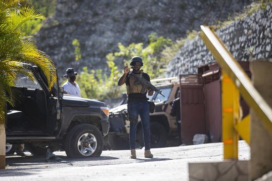海地警方称刺杀总统事件有28名嫌疑人 仍有8人在逃