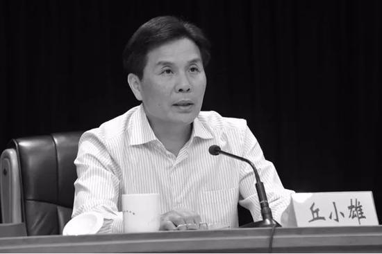 国家税务总局原副局长丘小雄逝世图片