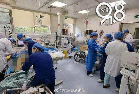 听众爆料:杭州一工厂车间爆炸多人受伤