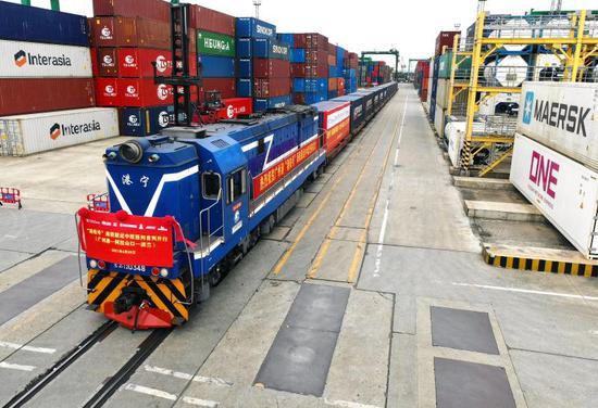 广州港首开中欧班列!近1.5亿元货值创新高