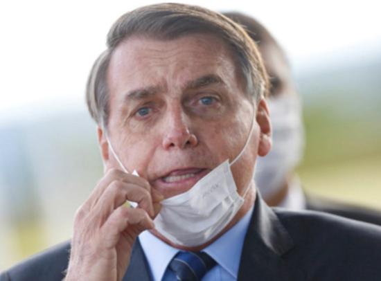 巴西总统博索纳罗图源:路透社