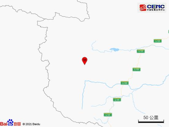 青海玉树州治多县发生3.2级地震图片