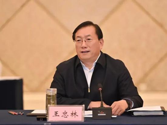 王忠林任湖北省副省长、代理省长图片