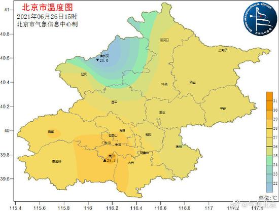 北京今天下午有雷阵雨!小心雷暴大风+短时强降水