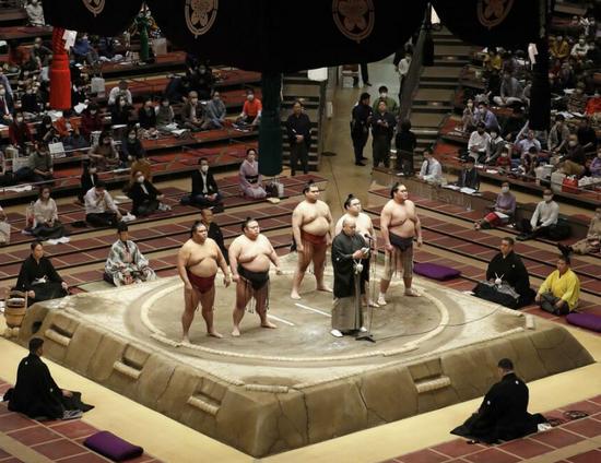 多人确诊后 日本相扑协会将全员接受新冠病毒检测