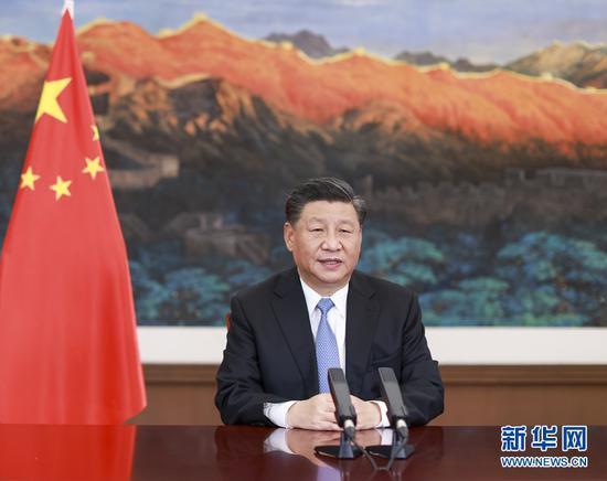 习近平在第十七届中国-东盟博览会和中国-东盟商务与投资峰会开幕式上致辞图片