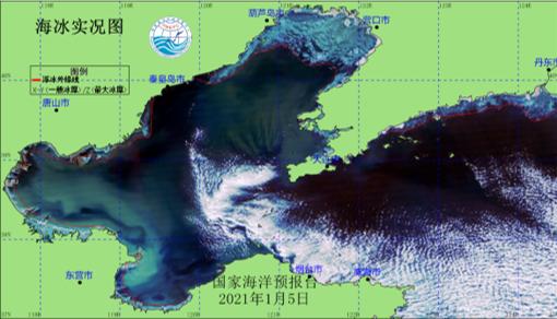 渤、黄海冰情较近十年平均状况偏重 1月中旬或达到警报标准图片