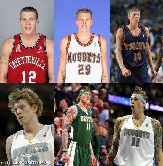 岁月是把杀猪刀!这些NBA球员的容貌变化最明显!