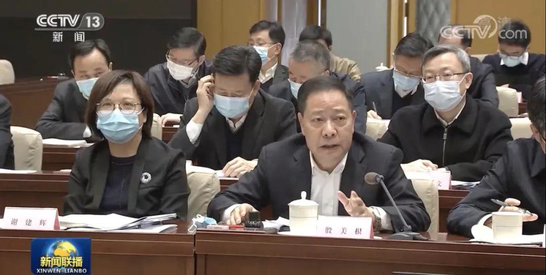 北上进京开会半个月后,省委常委专程去了这里图片