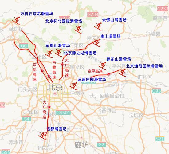 下周北京早高峰预计延迟半小时 工作日上午这些医院周边易堵图片