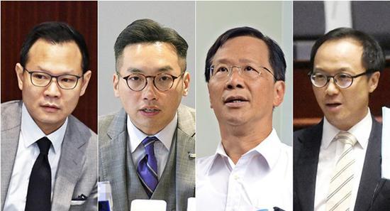 港府宣布丧失立法会议员资格名单 涉4名揽炒派议员图片
