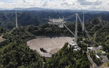 阿雷西博望远镜将重建:前期投入800万美元