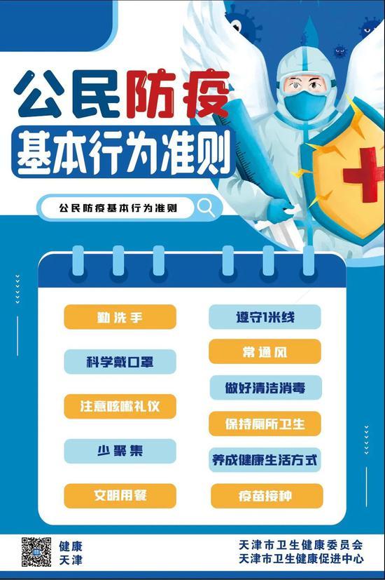 天津市6月29日新增1例境外输入无症状感染者