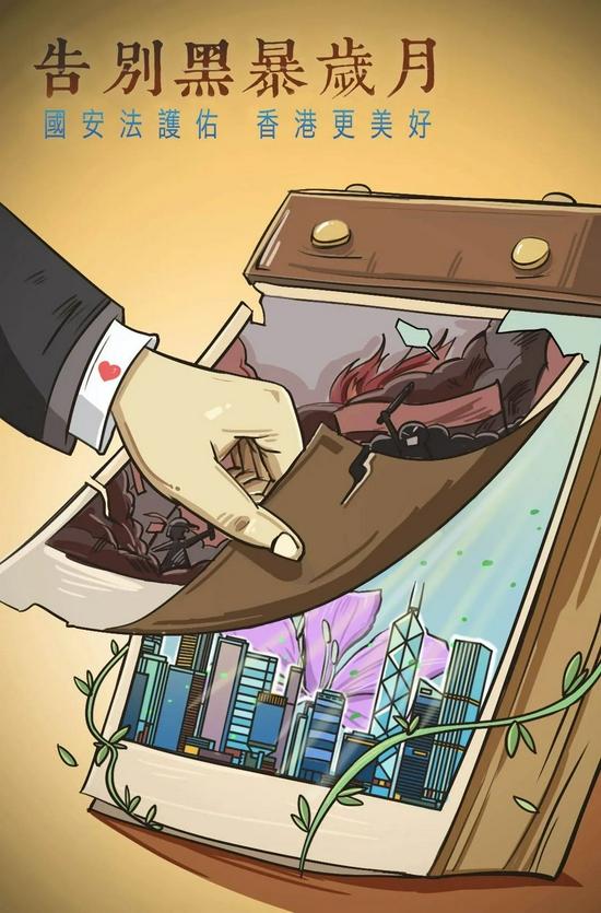 人民日报:国安法护佑香港未来更美好图片