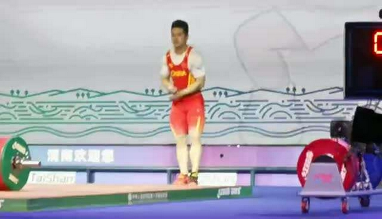 石智勇破总成绩世界纪录,夺得全运会冠军!