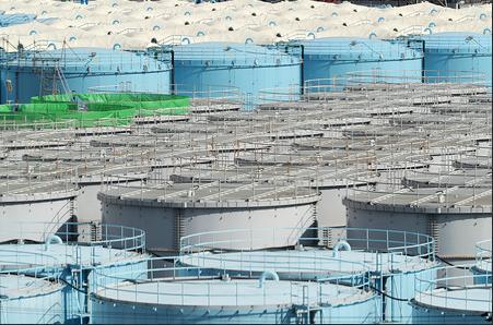 福岛核电站储水罐明年将满 菅义伟回应这样处理
