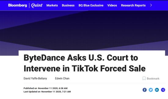 TikTok再诉美国政府 挑战CFIUS总统令图片