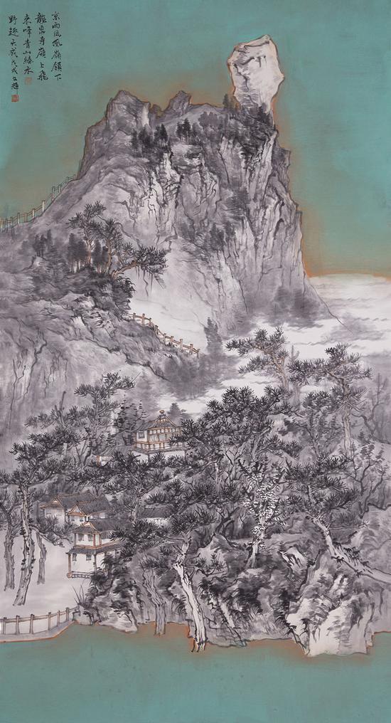 《京西凤凰岭》/ 左文辉