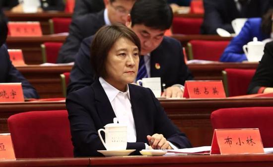 自治区党委副书记、自治区主席布小林