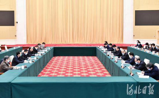 马晓伟率国家卫生健康委一行到河北指导疫情防控工作图片