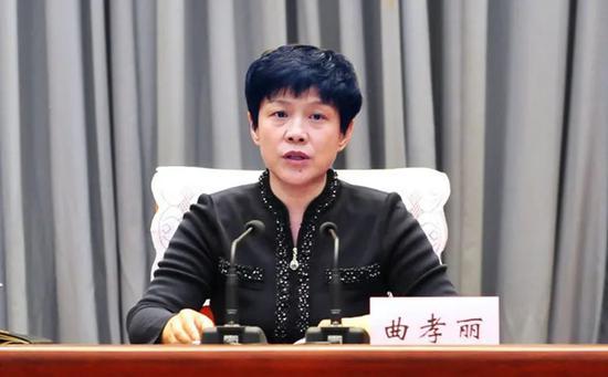 山西省委常委、组织部部长曲孝丽,已赴任河南