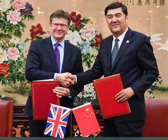 英国高官:中国三代核电华龙一号在英进展良好