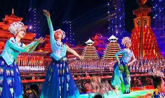 2018年央视春晚侗族大歌《尽情欢歌》