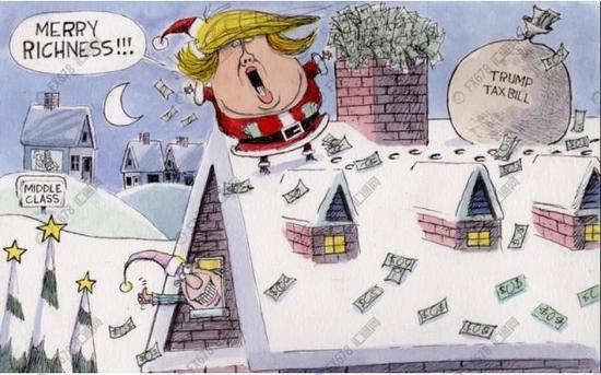 """特朗普""""税改""""到底掉改了些什么?"""