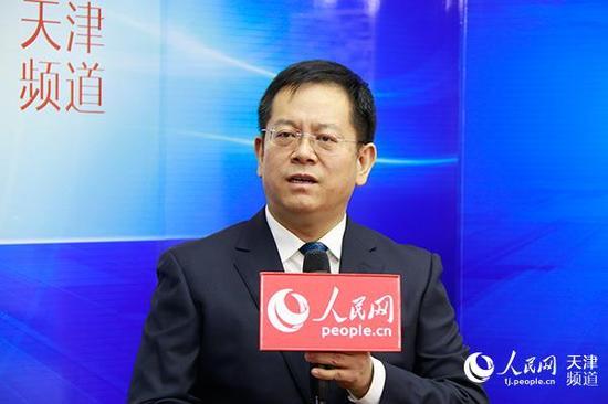 天津市国资委党委书记、主任彭三。陶建/摄