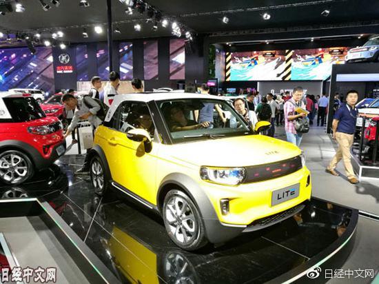 2017年11月的广州汽车展