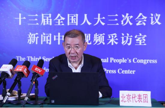 天下人大代表、北京市社会科学院法学所研究员马一德。受访者供图