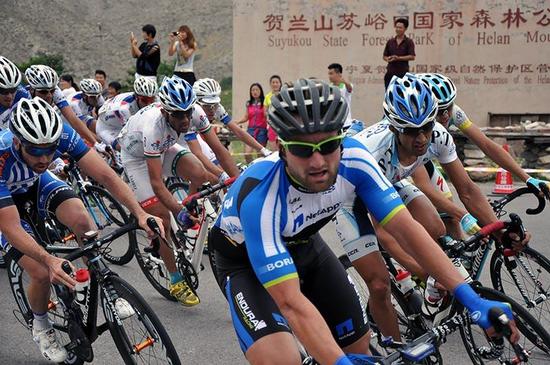环青海湖国际公路自行车赛(宁夏赛段)
