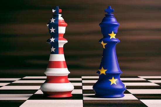 欧盟希望结束与美贸易摩擦 重提TTIP