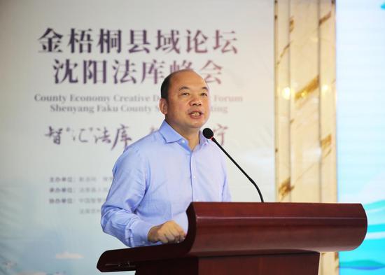 中国产业集聚研究专家《老杨会客厅》创始人、多地产业和招商顾问 杨建国