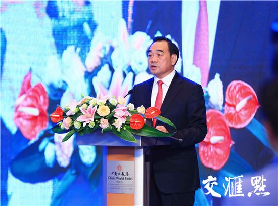 徐州市委书记、市人大常委会主任周铁根致辞