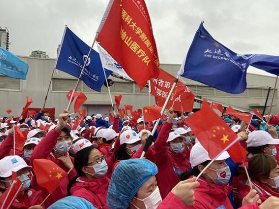 按计划,辽宁、上海、吉林、广东、山西、河北医疗队1090名医护人员将于30日、31日回撤。